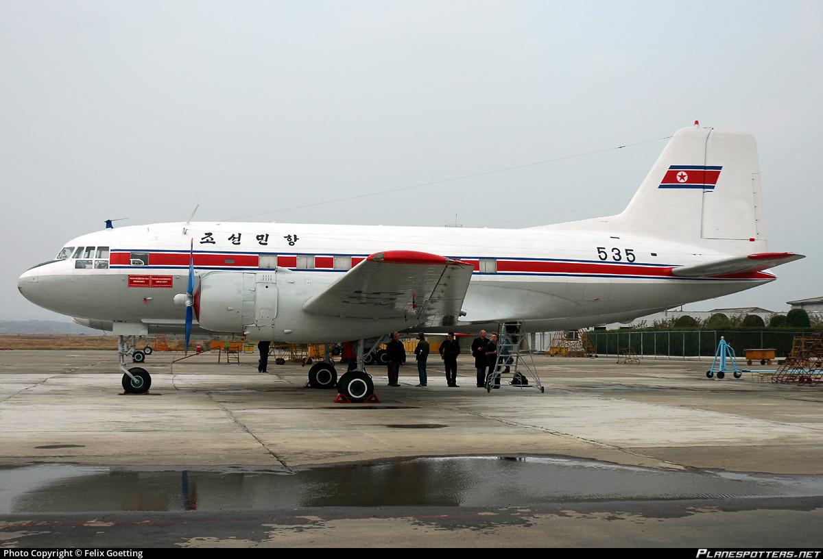 535 Air Koryo Ilyushin Il 14p Photo By Felix Goetting Id 977631