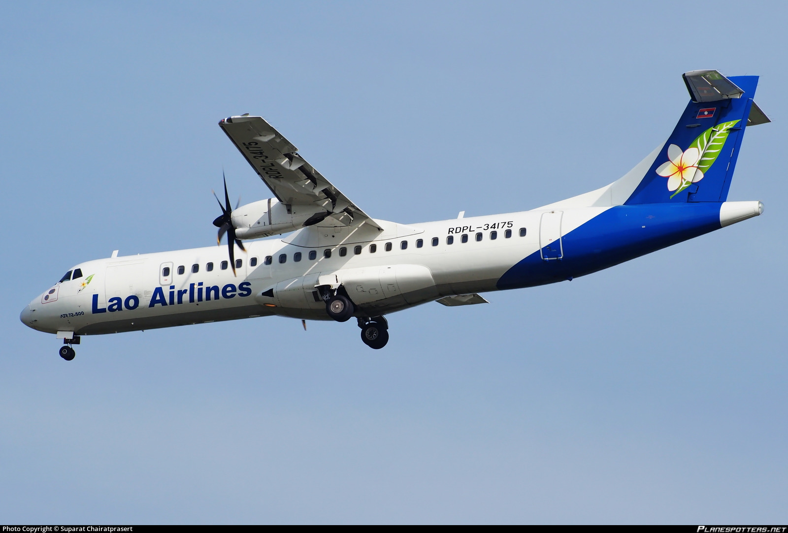 RDPL-34175 Lao Airlines ATR 72-500 (72-212A) Photo by Suparat  Chairatprasert | ID 545847 | Planespotters.net