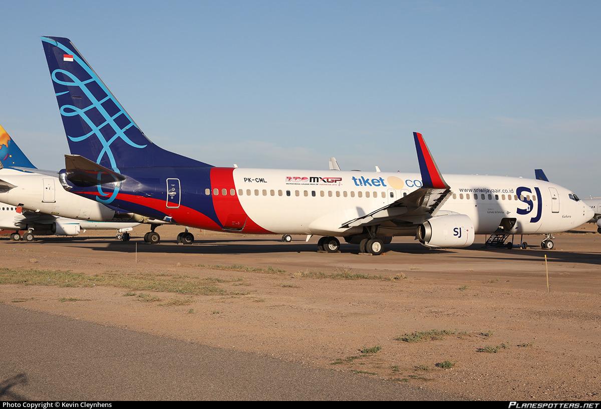 Pk Cml Sriwijaya Air Boeing 737 809 Wl Photo By Kevin Cleynhens Id 1028467 Planespotters Net