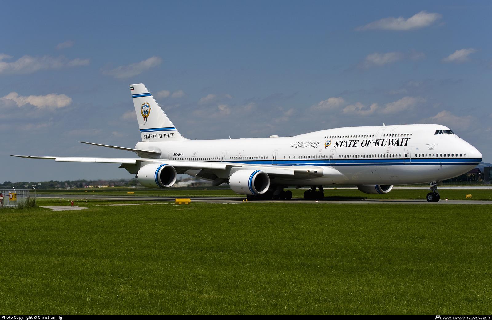 9K-GAA State of Kuwait Boeing 747-8JK(BBJ)(SZG / LOWS) by Christian Jilg