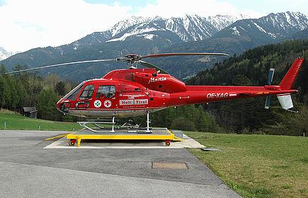 OE-XAG 5478 Heli Tirol Eurocopter AS 355 Ecureuil 2 Karres Heliport (Martin 2) (LOJP)
