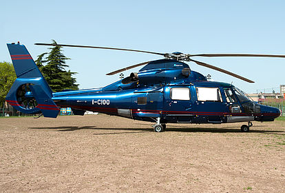 I-CIOO 6820 Private Eurocopter AS 365 N3 Dauphin Off-Airport
