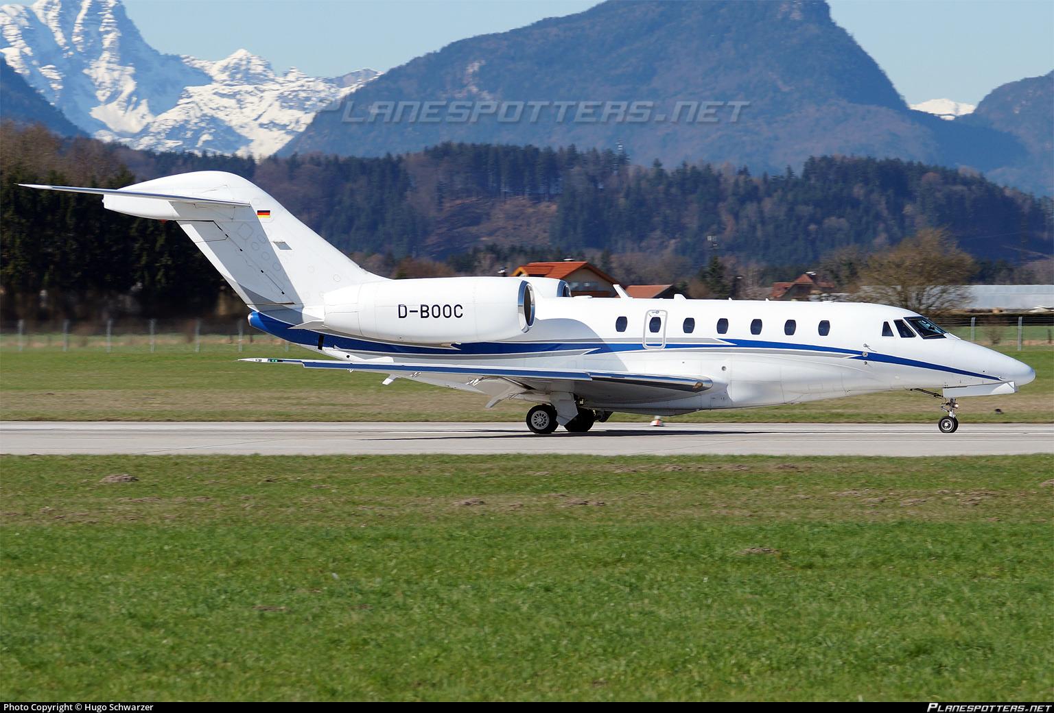 D Booc Air X Cessna 750 Citation X Photo By Hugo Schwarzer Id