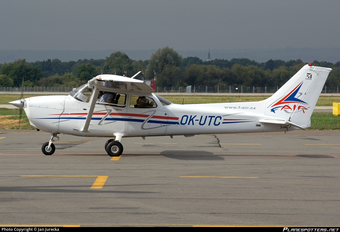 OK-UTC F Air, Czech Republic Cessna 172 Photo by Jan Jurecka | ID 640929 |  Planespotters.net