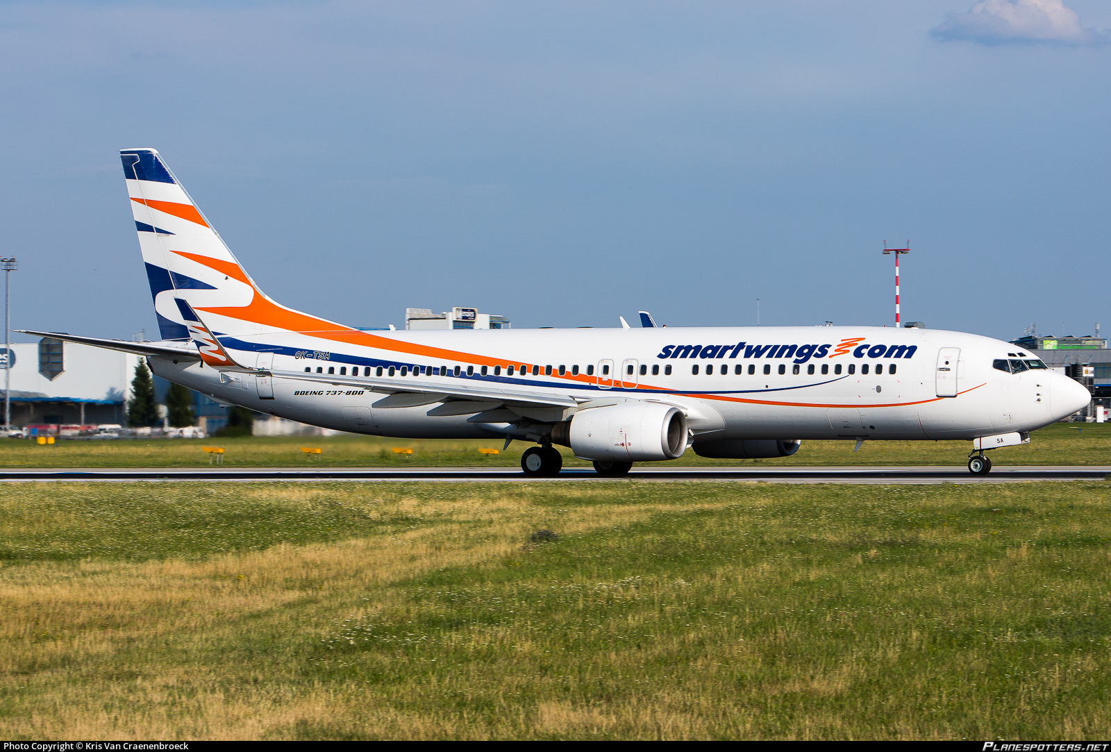 OK-TSA Travel Service Boeing 737-8S3(WL) Photo by Kris Van Craenenbroeck | ID 790394 | Planespotters.net