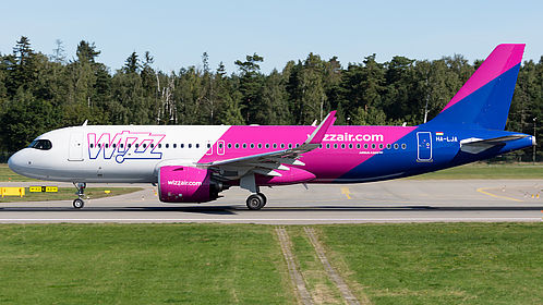 Wizz Air Fleet Details And History