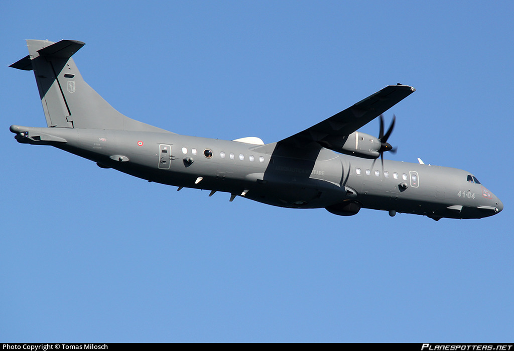 MM62281 Aeronautica Militare (Italian Air Force) ATR P-72A MPA (72-212A)  Photo by Tomas Milosch | ID 908685 | Planespotters.net