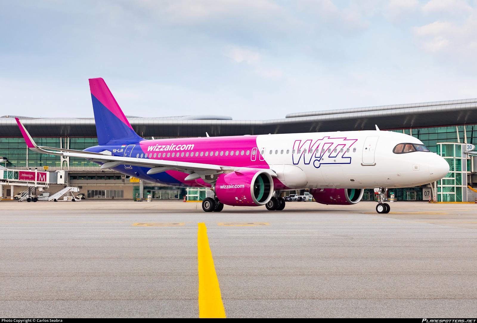 Ha Lja Wizz Air Airbus A320 271n Photo By Carlos Seabra Id 1082562 Planespotters Net