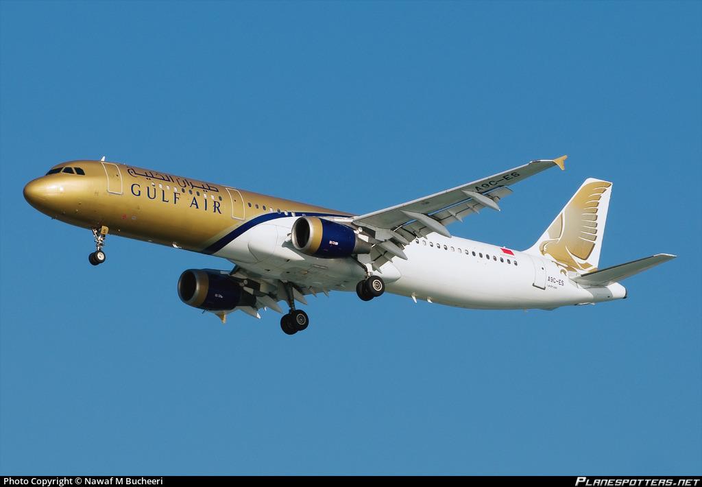 A9C-ES Gulf Air Airbus A321-211 Photo by Nawaf M Bucheeri | ID 161750 |  Planespotters.net