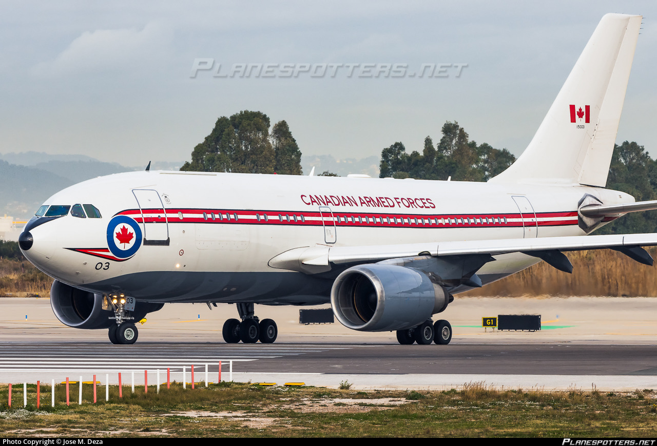 15003 Canadian Armed Forces Airbus CC-150 Polaris (A310-304) Photo by Jose  M. Deza | ID 1048156 | Planespotters.net