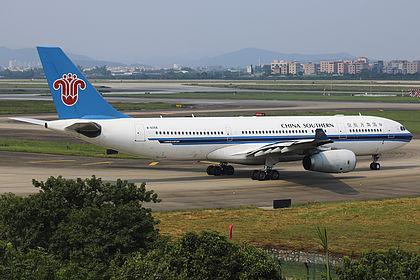B-6058 656 China Southern Airlines Airbus A330-243 Guangzhou Baiyun (CAN / ZGGG)