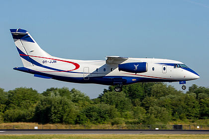 Oy Jjh Sun Air Of Scandinavia Dornier Do 328jet 310