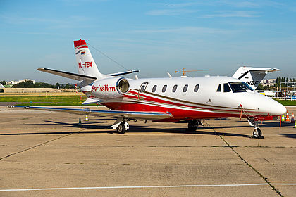 YU-TBA 560-6249 Swisslion Cessna 560XL Citation XLS Paris Le Bourget (LBG / LFPB)