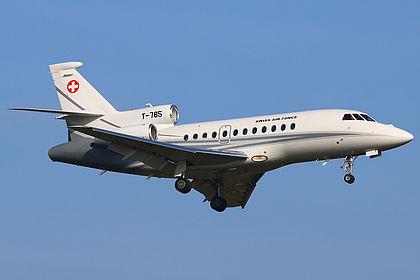 T-785 195 Swiss Air Force Dassault Falcon 900 Bremen (BRE / EDDW)