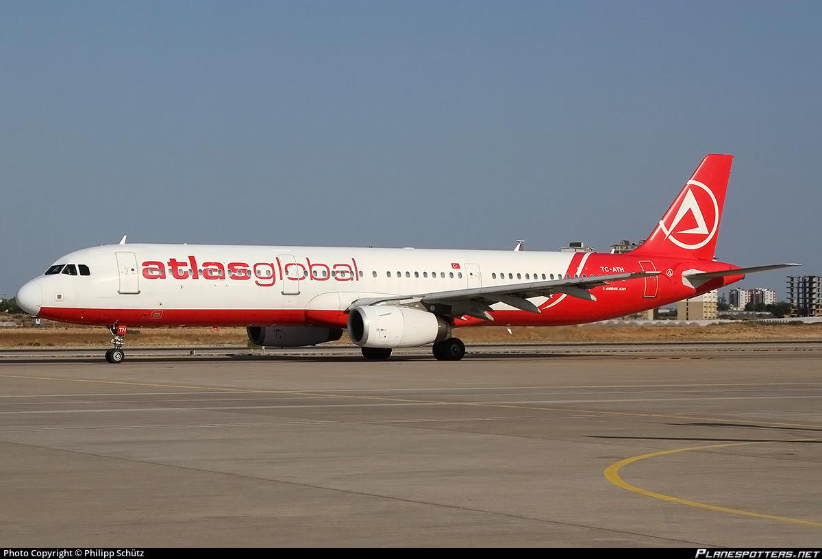 TC-ATH AtlasGlobal Airbus A321-231 photographed at Antalya (AYT / LTAI) by Philipp Schütz