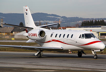 D-CAWU Private Cessna 560XL Citation XLS Salzburg W.A. Mozart (SZG / LOWS)