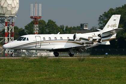 G-CIEL Private Cessna 560XL Citation Excel Milan Linate (LIN / LIML)