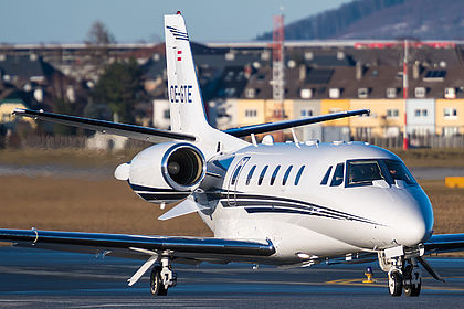 OE-GTE Private Cessna 560XL Citation XLS Salzburg W.A. Mozart (SZG / LOWS)