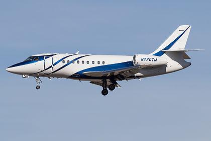 N770TM Private Dassault Falcon 2000 Las Vegas McCarran (LAS / KLAS)