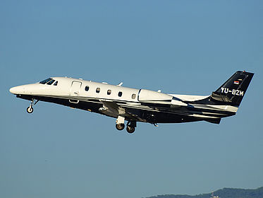 YU-BZM 560-6037 Air Pink Cessna 560XL Citation XLS Malaga (AGP / LEMG)