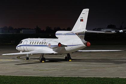 17402 198 Portuguese Air Force Dassault Falcon 50 Malta Luqa (MLA / LMML)