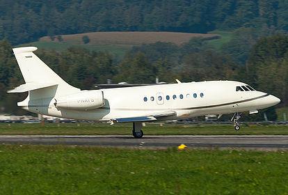 I-NATS 11 Sirio Dassault Falcon 2000EX Zurich Kloten (ZRH / LSZH)