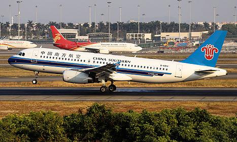 B-6813 4864 China Southern Airlines Airbus A320-232 Guangzhou Baiyun (CAN / ZGGG)
