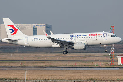 B-1035 8019 China Eastern Airlines Airbus A320-214(WL) Shanghai Pudong (PVG / ZSPD)