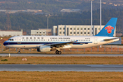 B-6739 4550 China Southern Airlines Airbus A320-214 Kunming Changshui (KMG / ZPPP)