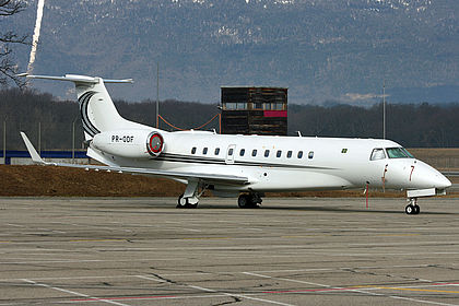 PR-ODF 14501054 Global Taxi Aéreo Embraer EMB-135BJ Legacy Geneva Cointrin (GVA / LSGG)