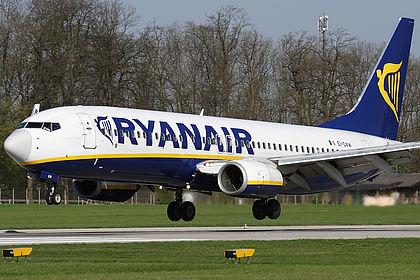 EI-DAW 33556 Ryanair Boeing 737-8AS(WL) Salzburg W.A. Mozart (SZG / LOWS)