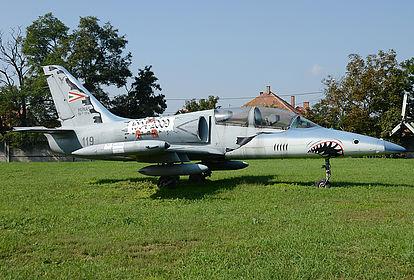 119 Hungarian Air Force Aero L-39 Albatros Szolnok Air Base (LHSN)