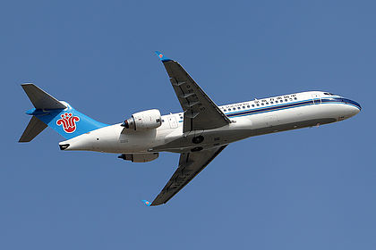 B-605W 139 China Southern Airlines COMAC ARJ21-700 Guangzhou Baiyun (CAN / ZGGG)