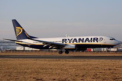 EI-DLZ 33622 Ryanair Boeing 737-8AS(WL) Linz Blue Danube (LNZ / LOWL)