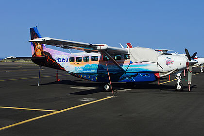 N2150 208B5054 Big Island Air Cessna 208B Grand Caravan Kona International at Keahole (KOA / PHKO)