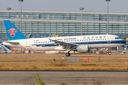 B-6656 4322 China Southern Airlines Airbus A320-214 Shanghai Pudong (PVG / ZSPD)