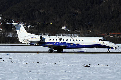 OK-SLN 145796 ABS Jets Embraer EMB-135BJ Legacy Innsbruck Kranebitten (INN / LOWI)