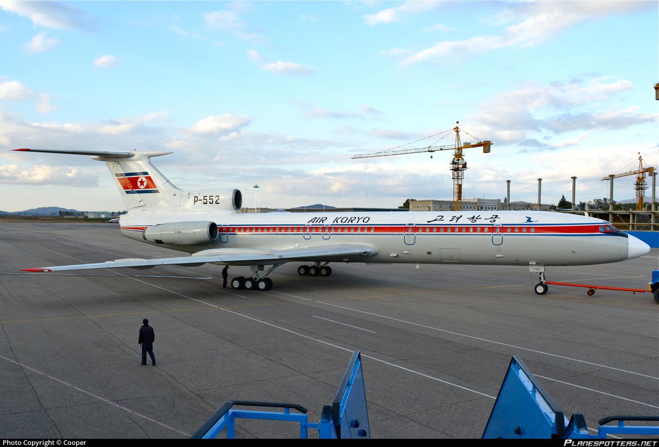 P 552 Air Koryo Tupolev Tu 154b Photo By Cooper Id 433195
