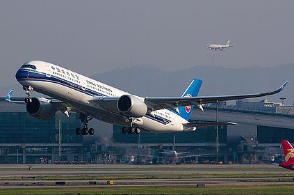 B-309W 334 China Southern Airlines Airbus A350-941 Guangzhou Baiyun (CAN / ZGGG)