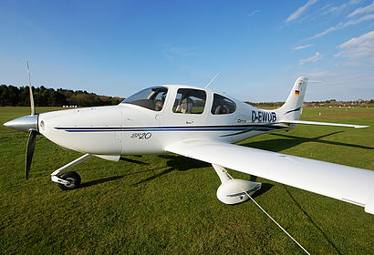 D-EWUB Private Cirrus SR20 Wyk Föhr (OHR / EDXY)