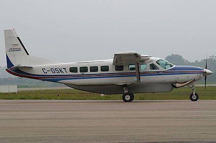 C-GSKT Private Cessna 208B Grand Caravan Florianopolis Hercilio Luz (FLN / SBFL)