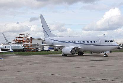 VP-BWR 29317 USAL Ltd. Boeing 737-79T(BBJ) Paris Le Bourget (LBG / LFPB)