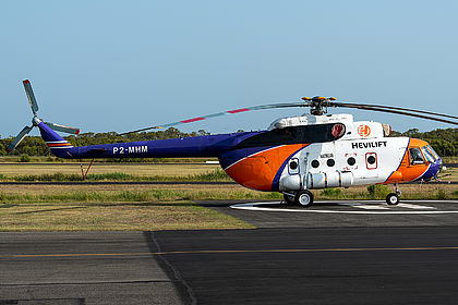 P2-MHM 95881 Hevilift Mil Mi-8 Redcliffe (RCL / YRED)