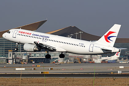 B-6891 5047 China Eastern Airlines Airbus A320-214 Kunming Changshui (KMG / ZPPP)