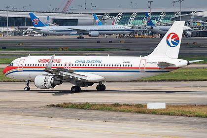 B-1862 6127 China Eastern Airlines Airbus A320-214(WL) Guangzhou Baiyun (CAN / ZGGG)