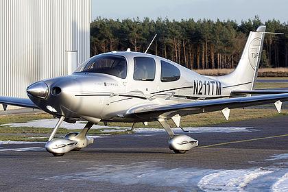 N211TM Private Cirrus SR22-GTS Weert Budel (EHBD)