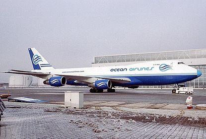 I-OCEA 21592 Ocean Airlines Boeing 747-230F(SCD) Munich Franz Josef Strauss (MUC / EDDM)