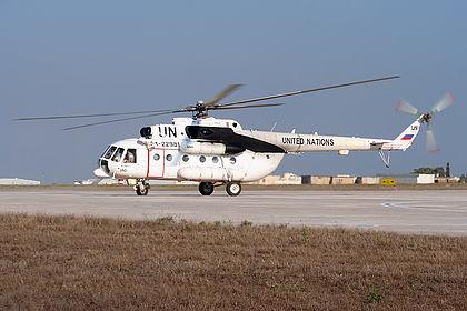 RA-22981 United Nations Mil Mi-8 Malta Luqa (MLA / LMML)