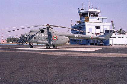 Z2404 223104 Indian Air Force Mil Mi-8 Yelahanka Air Force Station (VOYK)