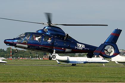 I-CIOO 6820 Private Eurocopter AS 365 N3 Dauphin Milan Linate (LIN / LIML)